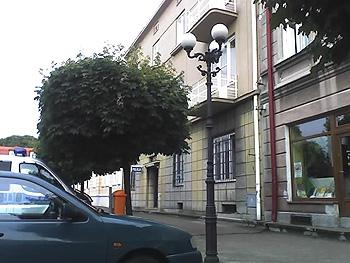 Budynek policji w Łańcucie